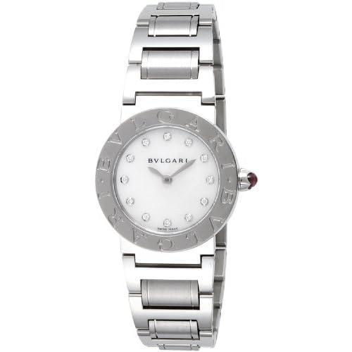 [ブルガリ]BVLGARI 腕時計 ブルガリブルガリ ホワイトパール文字盤 BBL26WSS/12 レディース 【並行輸入品】