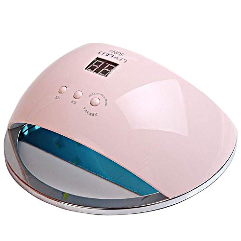 カタログテレビを見る体操ネイルドライヤーランプ用ネイル48W SUN6 UV LEDランプポータブル高品質ネイルドラムセンサーとLCD硬化UVネイルジェルネイルツールufランプ、画像としての色