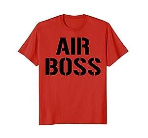 Air Boss Shirt Aircraft Carrier Deck Boss Naval Aviator Tee [並行輸入品]