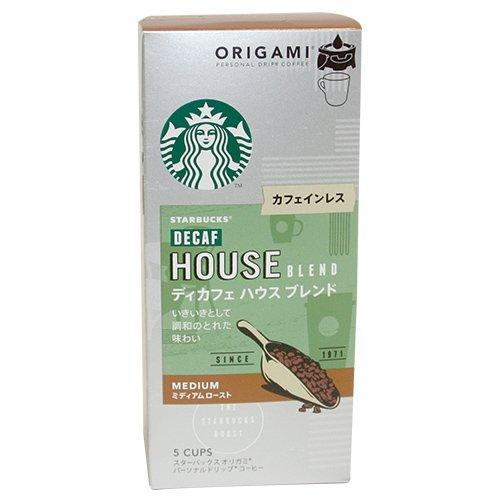 (箱)スターバックス「Starbucks(R)」 オリガミ パーソナルドリップコーヒー ディカフェブレンド 1箱(9.8g×5袋)