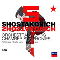 ショスタコーヴィチ:管弦楽曲集(5枚組)の商品写真