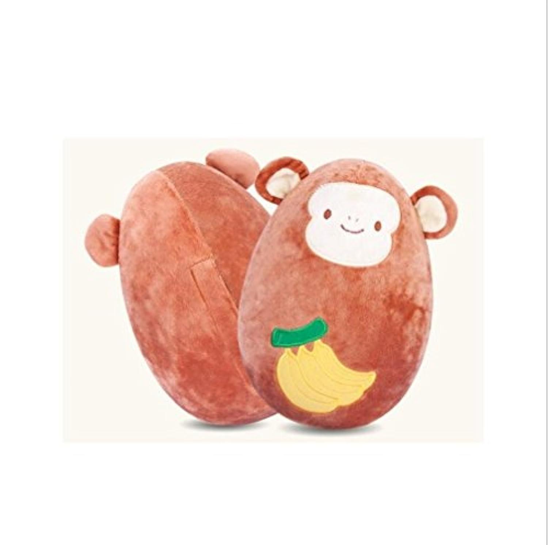 Keaner新生児幼児Roly - Poly Toys Inflatable Plush人形Little Monkeyおもちゃタンブラーベビーおもちゃギフト(ブラウン)
