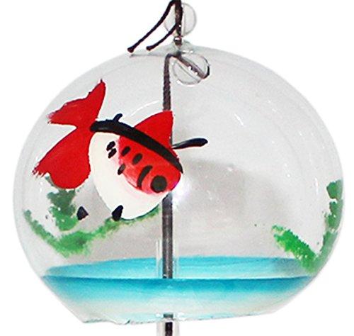 篠原江戸風鈴 風鈴 小丸 金魚