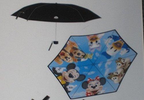 東京ディズニーリゾート 実写 晴雨兼用傘 折り畳み傘 日傘 ...