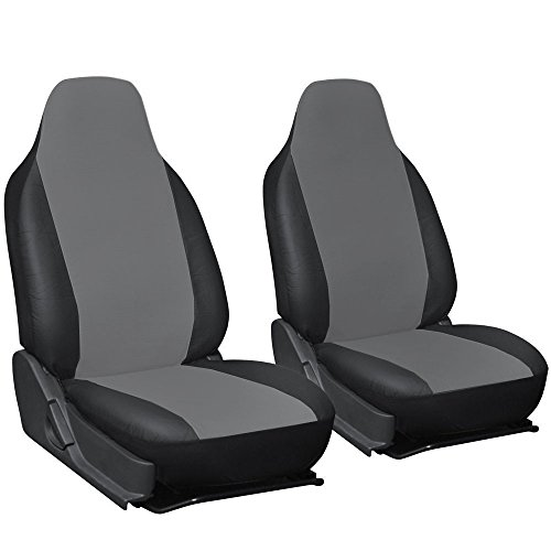 MIFO 汎用シートカバー 運転席と助手席 2個セット シー...