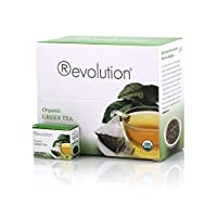 Revolution Tea Organic Green Tea, 30 Count