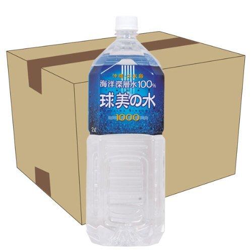 久米島海洋深層水 球美の水 硬度1000 2L×6本セット