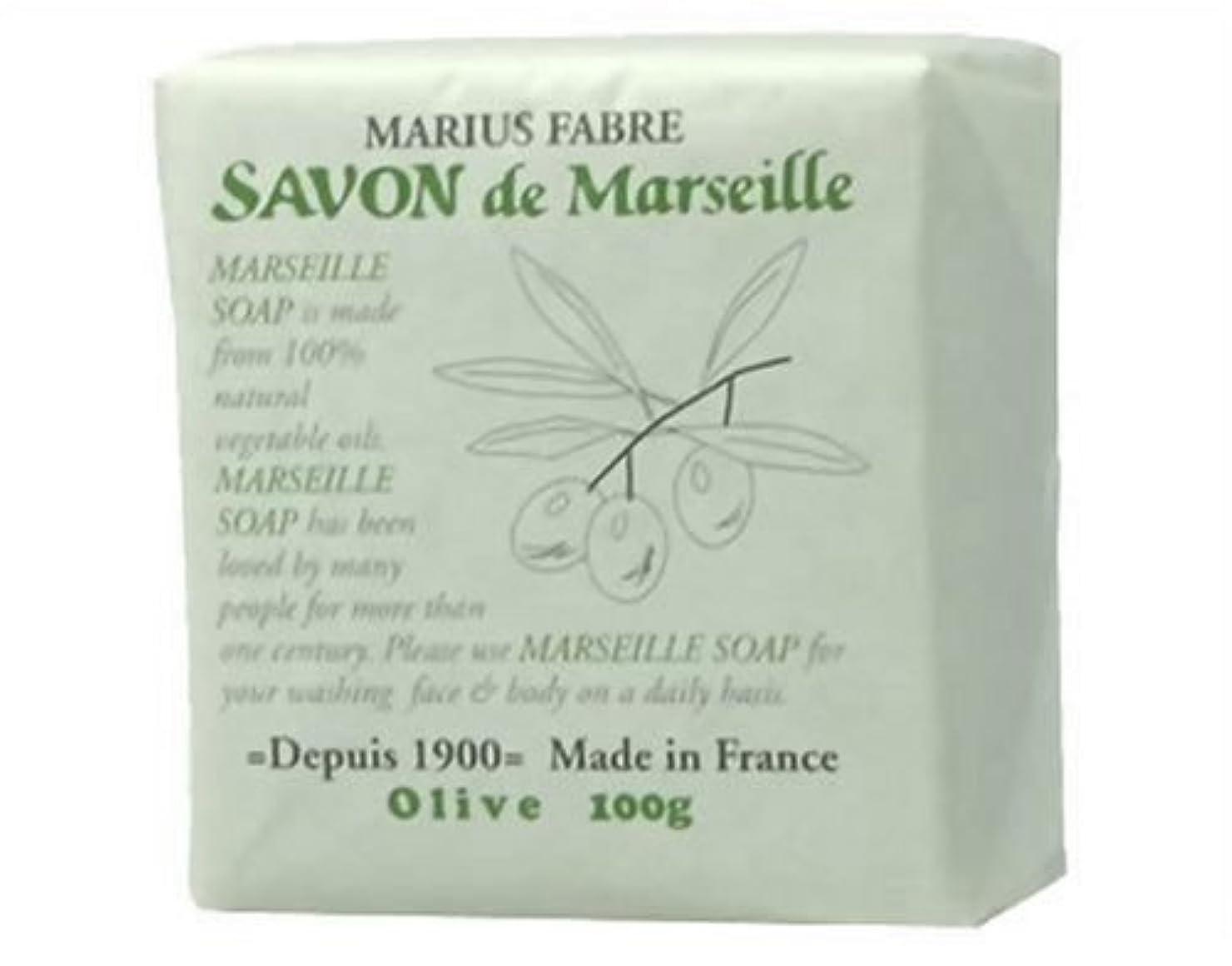 恥犯罪気づかないサボン ド マルセイユ オリーブ 100g