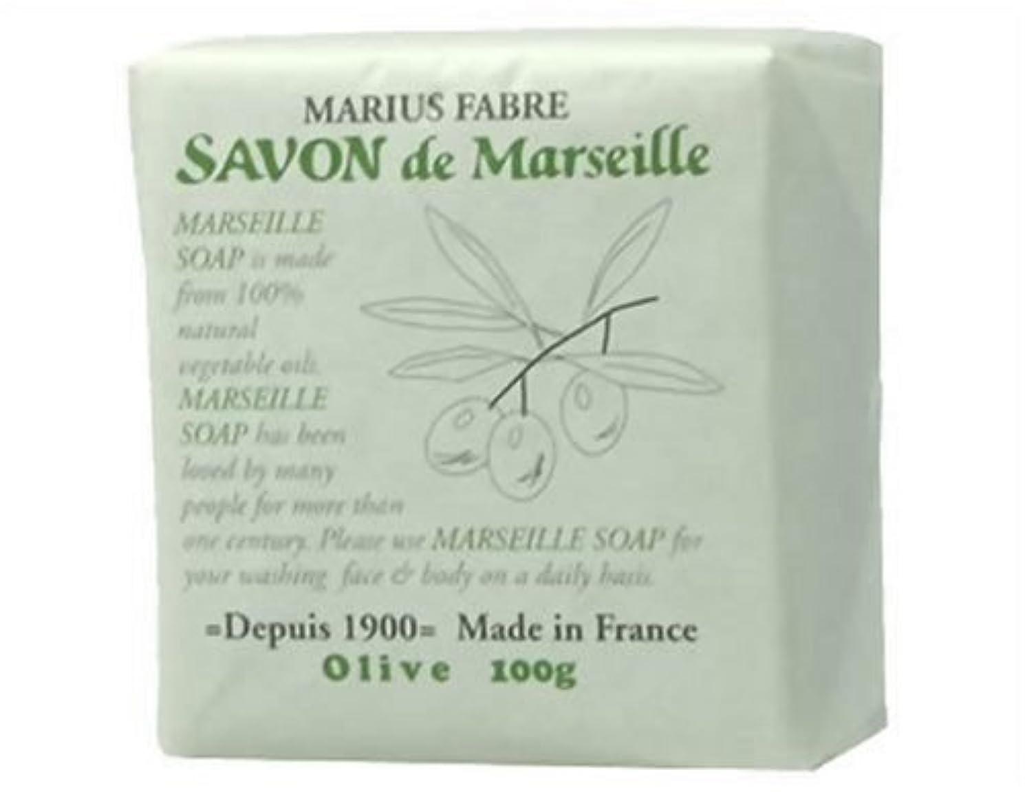 驚くべき受粉するおサボン ド マルセイユ オリーブ 100g