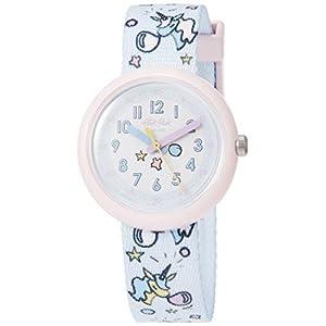 [フリック フラック]FLIK FLAK 腕時計 Power Time 5+ (パワータイム5+) BUBBLICORN (バブリーコーン) ガールズ FPNP030 FPNP030 ガールズ 【正規輸入品】