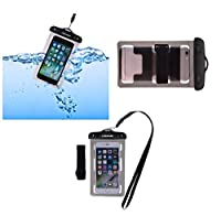 DFV mobile - アームバンドユニバーサルプロテクトビーチケース10M水中防水バッグ用 => NIKCRON NG477 > 黒