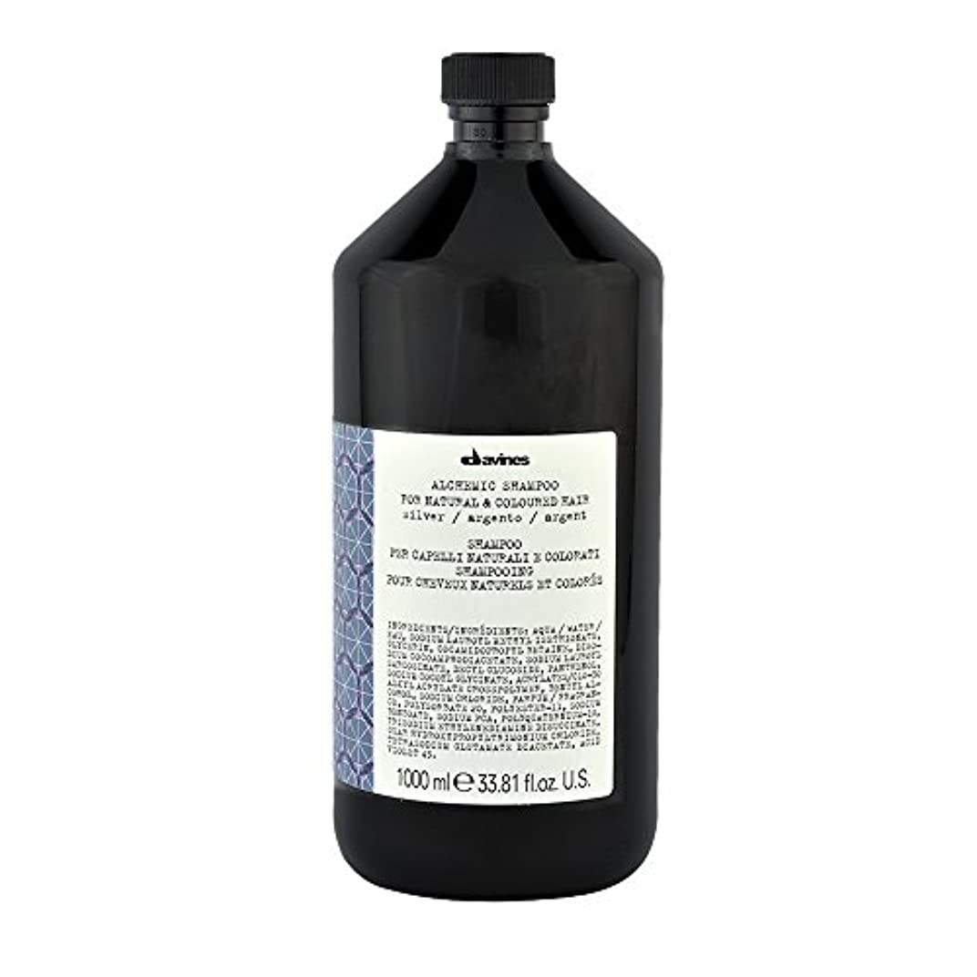 ファイバつかまえる船形ダヴィネス Alchemic Conditioner - # Silver (For Natural & Coloured Hair) 1000ml/33.81oz並行輸入品