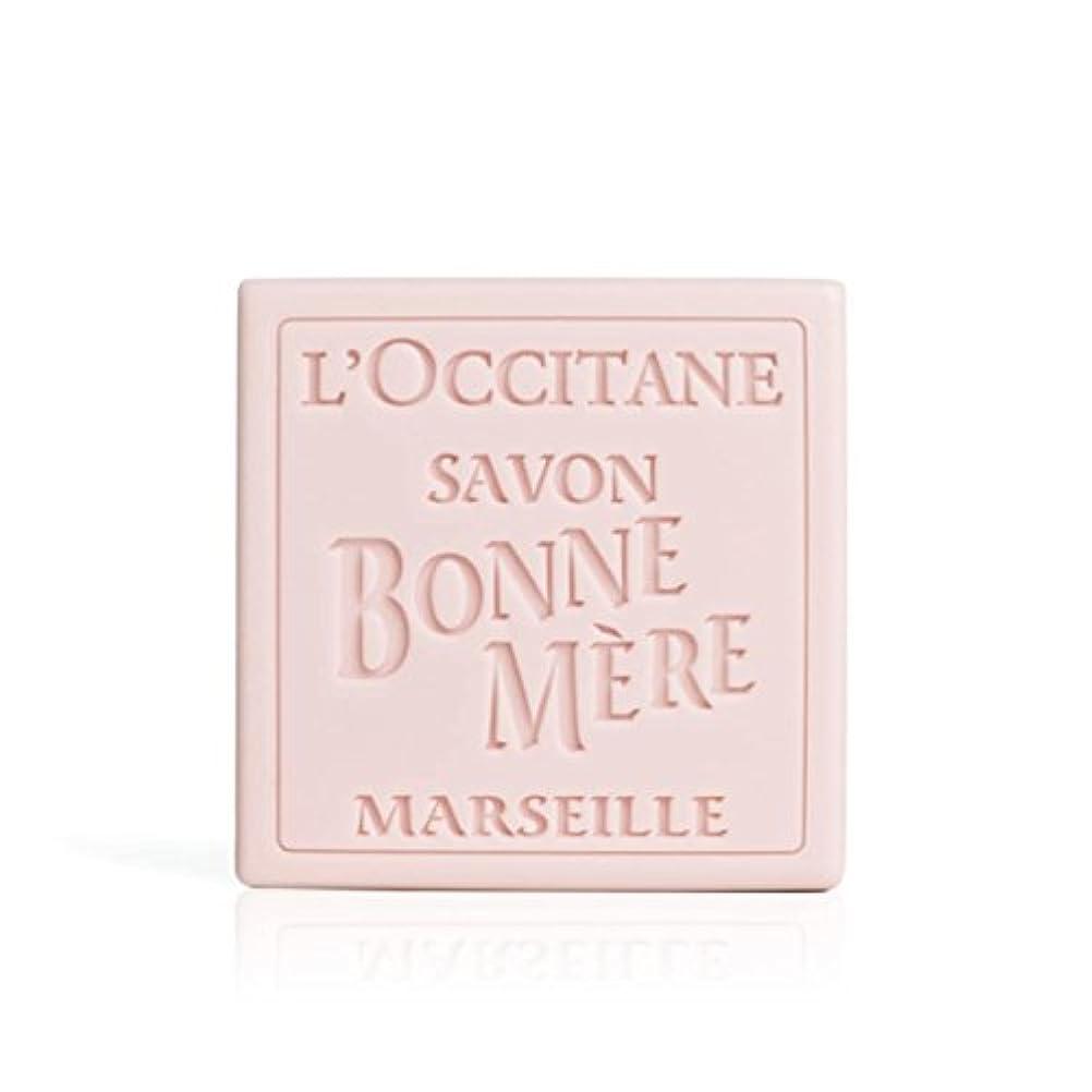 十代の若者たちエッセンスラオス人ロクシタン(L'OCCITANE) ボンメールソープ ワイルドローズ 100g