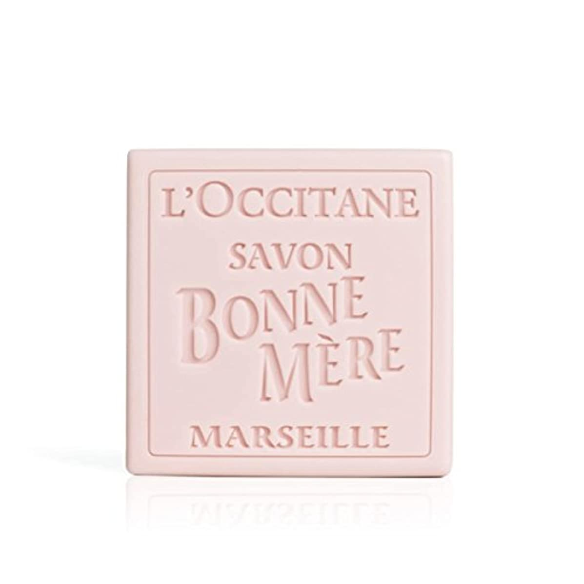 洗練オフ暴徒ロクシタン(L'OCCITANE) ボンメールソープ ワイルドローズ 100g