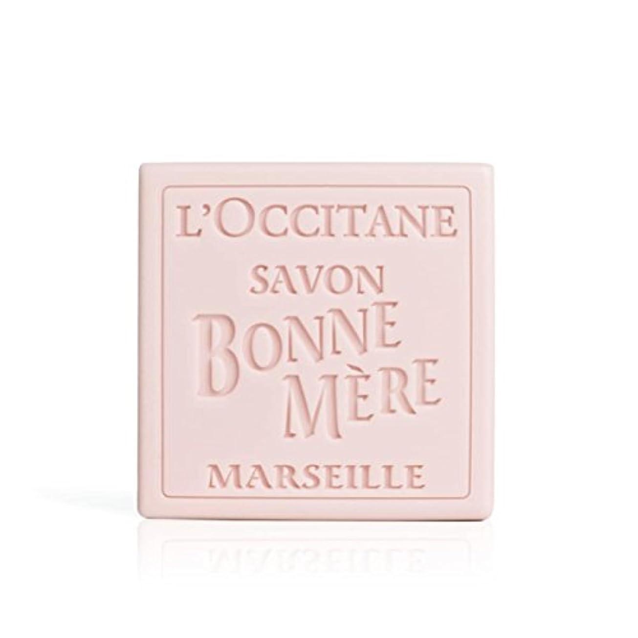 バルコニーサスティーン役に立たないロクシタン(L'OCCITANE) ボンメールソープ ワイルドローズ 100g