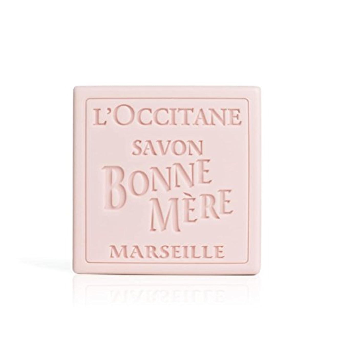 運営拒絶磁気ロクシタン(L'OCCITANE) ボンメールソープ ワイルドローズ 100g
