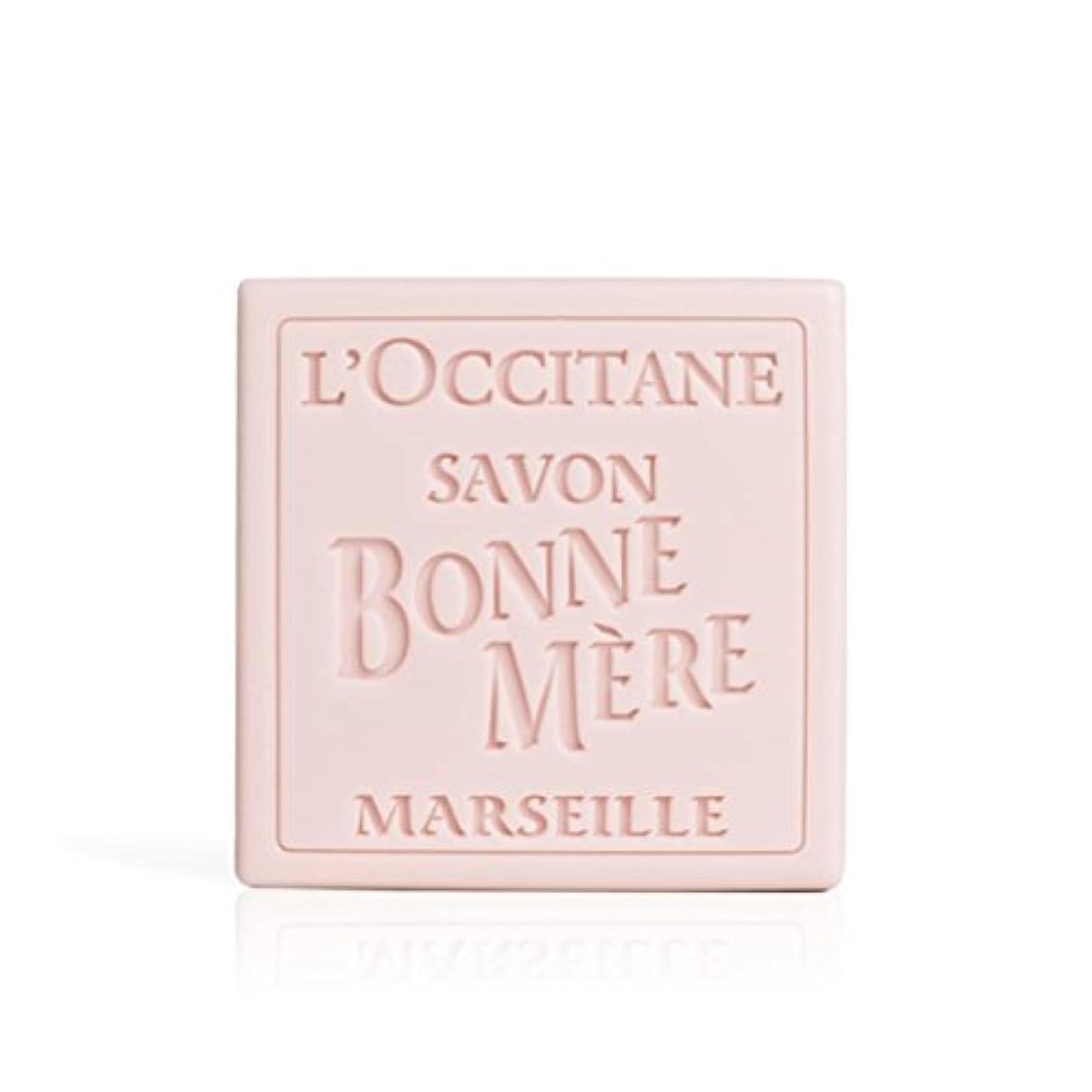 魔女不安悪党ロクシタン(L'OCCITANE) ボンメールソープ ワイルドローズ 単品 100g