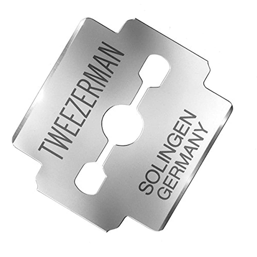 インク力学パースブラックボロウTweezerman Professional - Replacement Callus Shaver Blades - 100ct