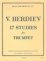 V. Berdiev: 17 Studies For Trumpet. For トランペット