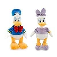 Disney Ducks BeanバッグPlushセット–Donald and Daisy Duck