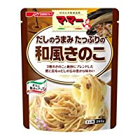 日清フーズ株式会社 ママー だしのうまみたっぷりの和風きのこ 260g ×36個