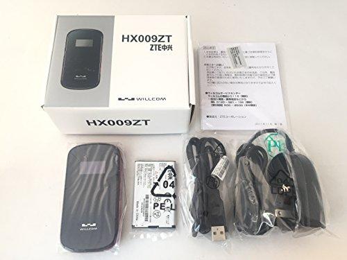 SIMフリー 海外、格安SIM利用可能 ウィルコム HX009ZT モバイルwifiルーター