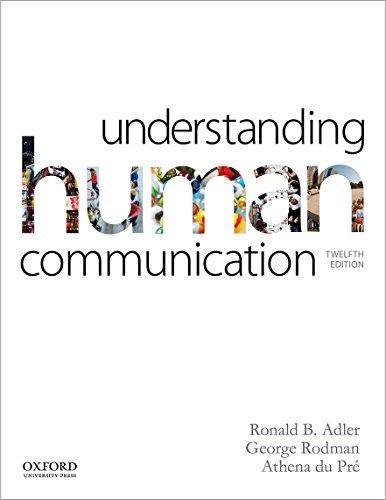 Download Understanding Human Communication 0199334323