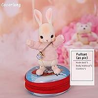エコテンポ Cocoriang トビ BJD SD 人形 1/12 ウサギボディ樹脂モデルベビーガールズボーイズ目 おもちゃ FANTANSY 天使