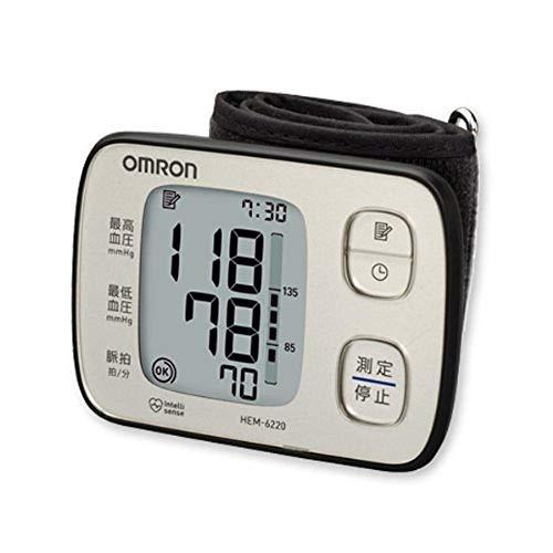 オムロン 血圧計 手首式 HEM-6220-SL...