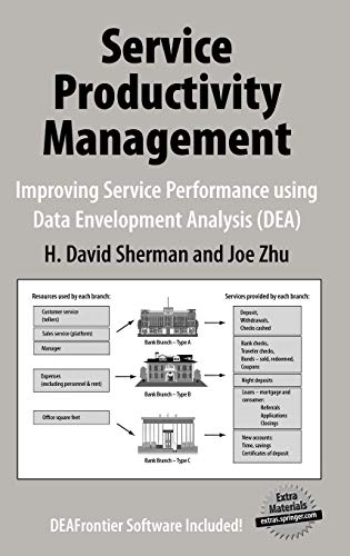 Download Service Productivity Management: Improving Service Performance using Data Envelopment Analysis (DEA) 0387332111
