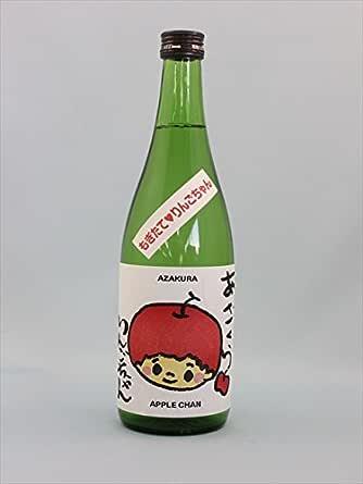阿櫻 あざくら 完熟りんごちゃん 720ml