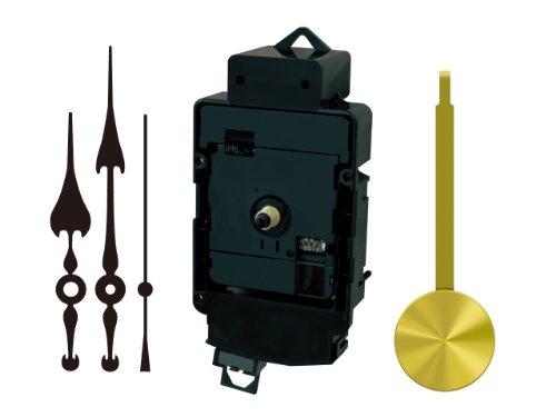 誠時(セイジ) 掛け時計用 下振子機能/夜間秒針止め機能付 電波時計 ムーブメント (文字盤の厚さ六角ナット5mm 丸ナット7mmまで対応) RC-480