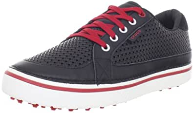 [クロックス] Crocs Drayden 18975-02I-620 black/true red(black/true red/M7/W9)