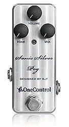 One Control Sonic Silver Peg ベースオーバードライブ