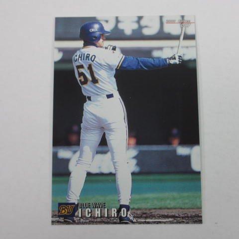 2000カルビープロ野球カード【レギュラーカード】087イチロー/オリックス