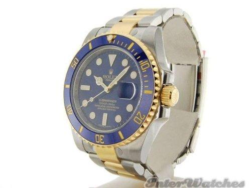 (ロレックス サブマリーナー) Rolex Submarinerイエローゴールド腕時計 ステンレス鋼 ダイヤモンドダイヤル116613