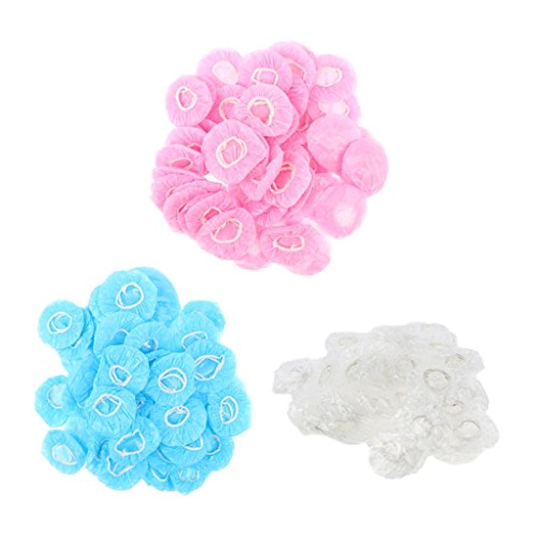 F Fityle イヤー保護カバー 耳プロテクター 使い捨て プラスチック お風呂 入浴用 男女兼用 約300個入