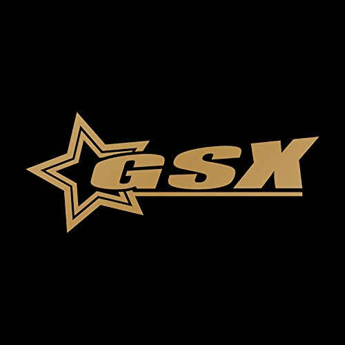 スター GSX ステッカー ゴールド 金