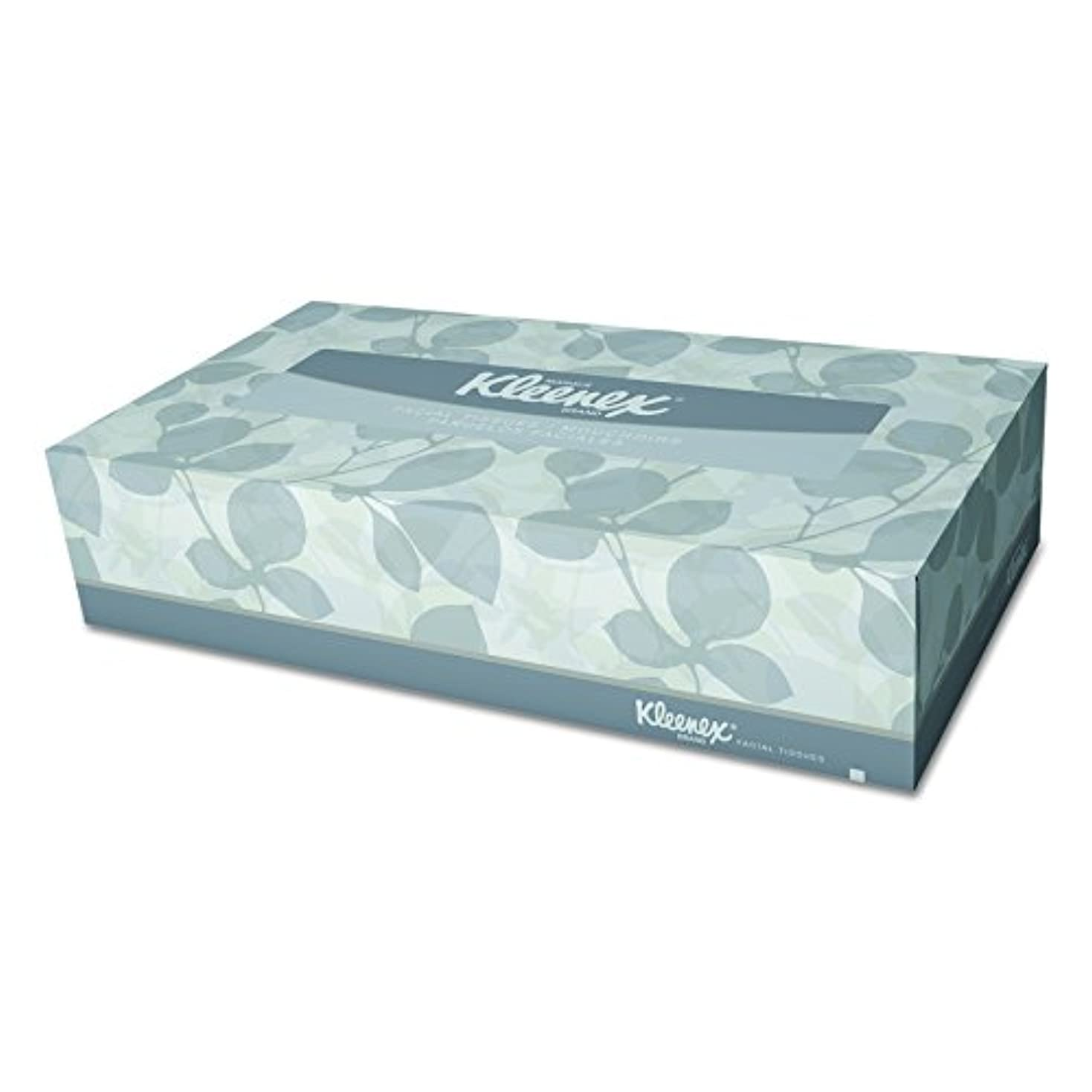 入場料に沿って素朴なKimberly-Clark Kleenex Facial Tissue in Pop-Up Box, White, 125 Tissues per Box (21606) by Kleenex