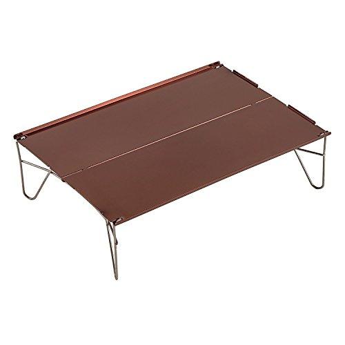 折り畳みテーブル アルミ製 組立式 超軽量 ミニ アウトドア用 室内用