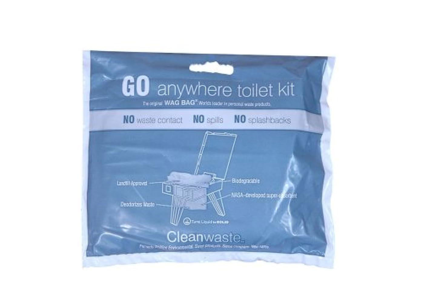 磁器厄介な誕生キット(50キット)廃棄どこでもGO Cleanwaste