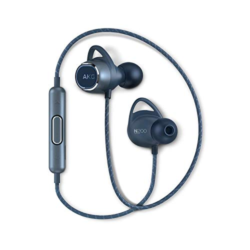 【AKG公式ストア】AKG ワイヤレスイヤホン N200 WIRELESS Bluetooth AAC SBC aptX 対応 AKGN200BT (ブルー)