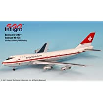 InFlight500 Swissair HB-IGA Boeing 747-200 1:500 Scale Diecast by InFlight500 [並行輸入品]
