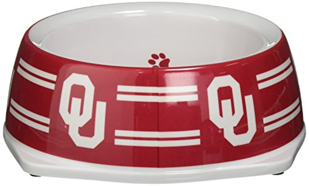 Sporty K9 Collegiate Oklahoma Sooners Pet Bowl, Small by Sporty K9