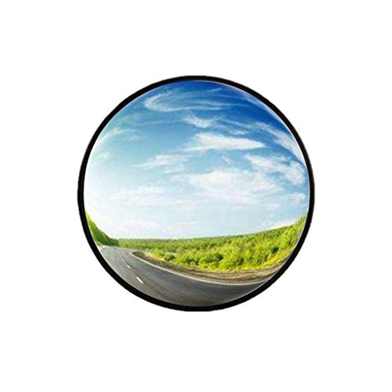パーティション対処する役に立たない-Safety Mirrors室内盗難防止ミラー、小型プラスチック広角レンズブラックポータブル凸面鏡オフィスウェアハウスブラインドスポットミラー30-60CM(サイズ:45CM)