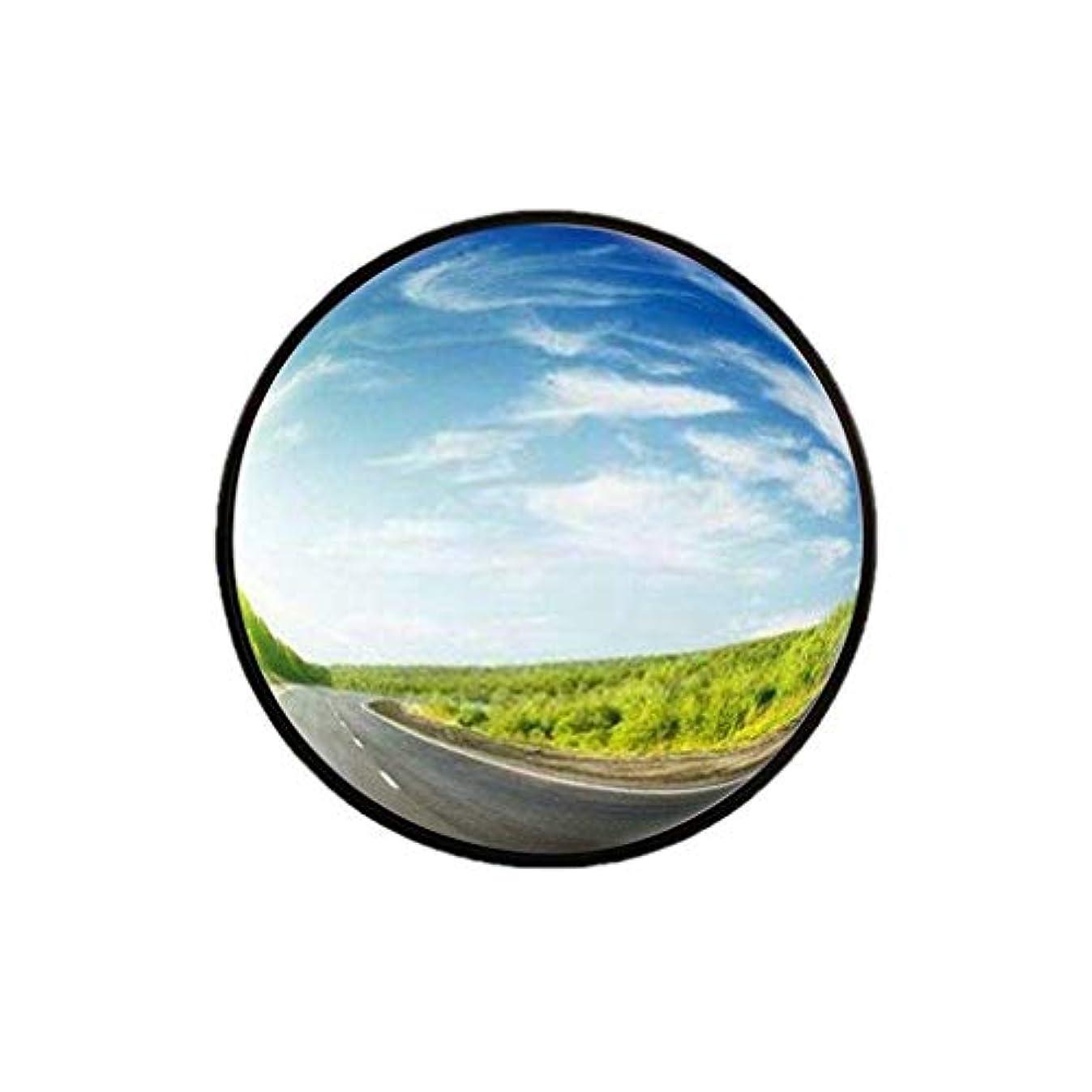 分配しますクルーズほこりっぽい-Safety Mirrors室内盗難防止ミラー、小型プラスチック広角レンズブラックポータブル凸面鏡オフィスウェアハウスブラインドスポットミラー30-60CM(サイズ:45CM)