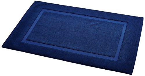 Amazonベーシック バスマット ネイビーブルー 51×79cm