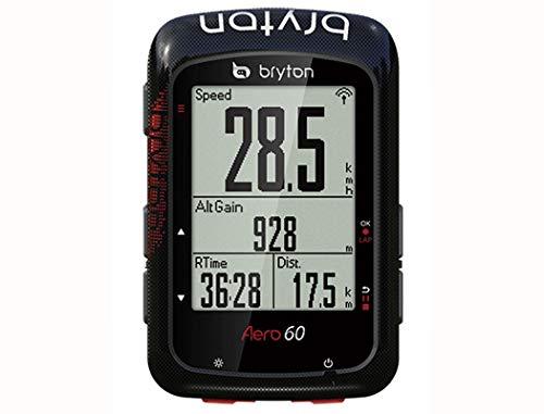 BRYTON(ブライトン) AERO 60T(エアロ60T) GPSサイクルコンピューター (トリプルセンサー付キット) TB0F0AE060TBLK