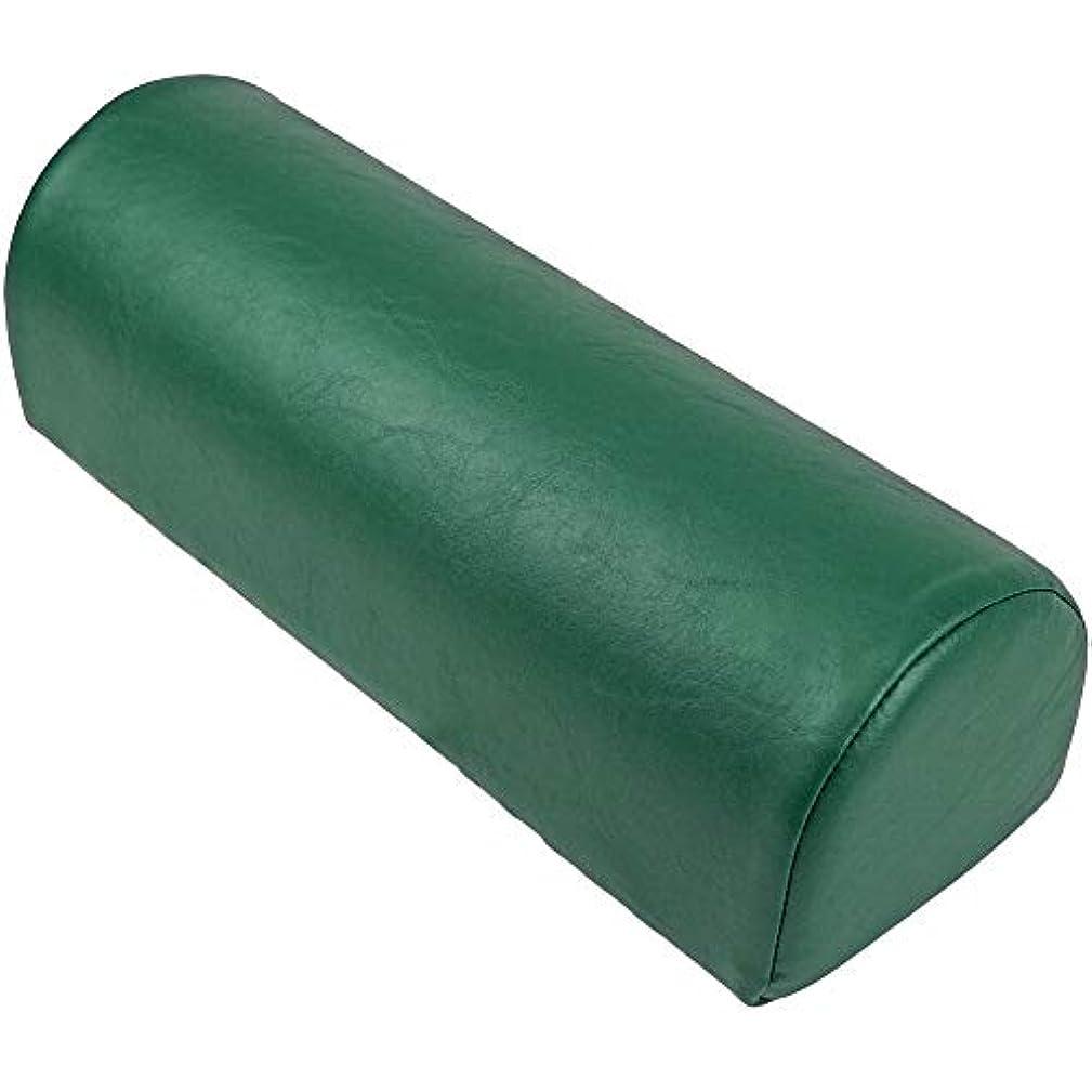 三住所伝説LLOYD (ロイド) ダッチマンロール【平底型】マッサージ クッション 椎間板 の 施術 足首 の支え 側臥位 の際の 枕 にも最適 (フォレスト)