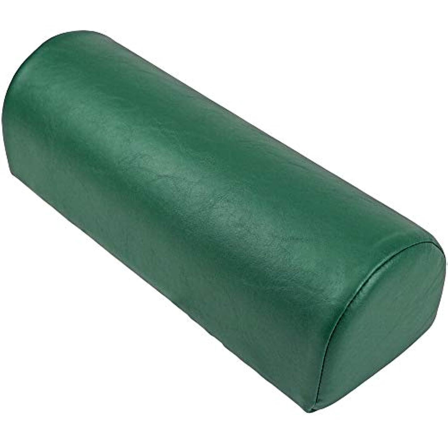 スポーツ免疫のどLLOYD (ロイド) ダッチマンロール【平底型】マッサージ クッション 椎間板 の 施術 足首 の支え 側臥位 の際の 枕 にも最適 (フォレスト)
